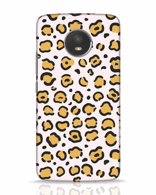 Shop Animal Pattern Moto E4 Plus Mobile Cover-Front