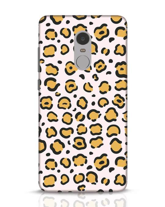 Shop Animal Pattern Xiaomi Redmi Note 4 Mobile Cover-Front