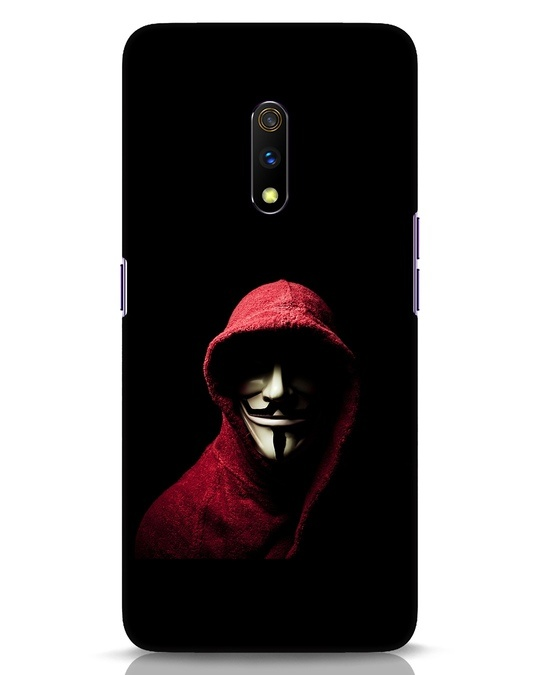 Shop Anonymask Realme X Mobile Cover-Front
