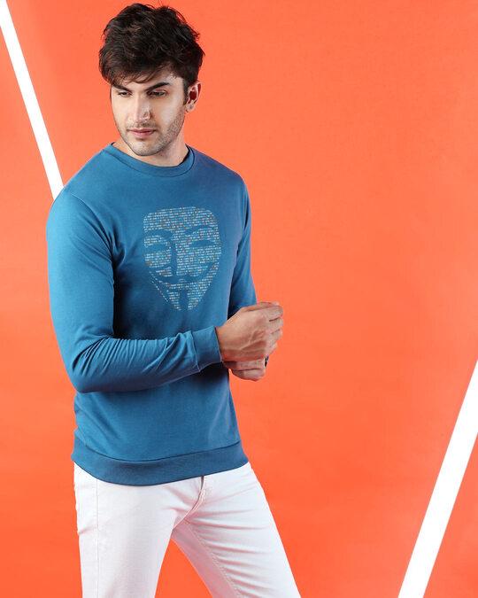 Shop Anonymous Digita Fleece Sweater-Front
