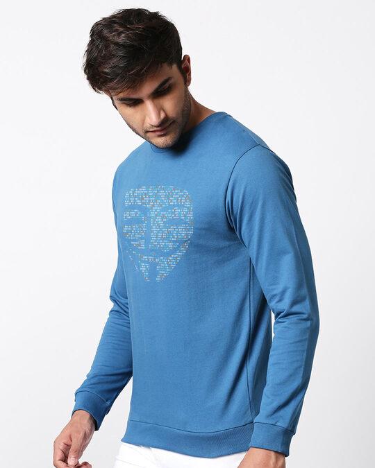 Shop Anonymous Digita Fleece Sweater-Design