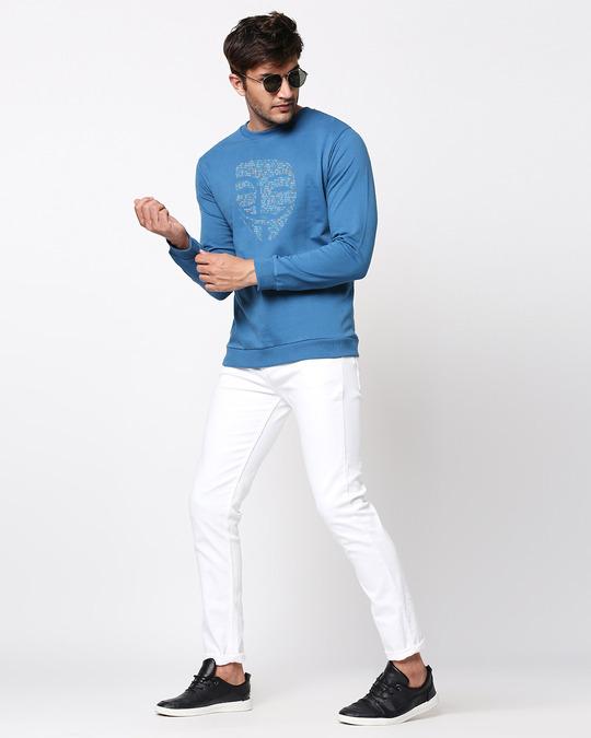 Shop Anonymous Digita Fleece Sweater