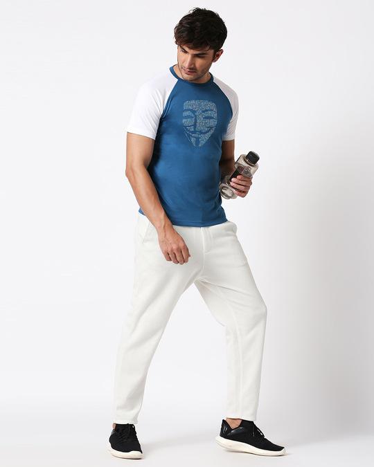 Shop Anonymous Digital Half Sleeves Raglan T-Shirt-Full