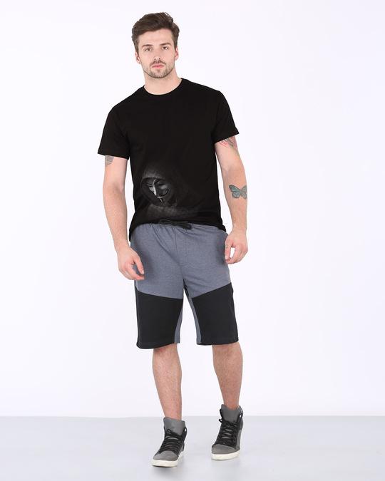 Shop Anonymous Hood Half Sleeve T-Shirt