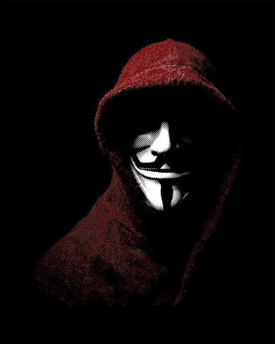 Shop Anonymous Mask Full Sleeve T-Shirt