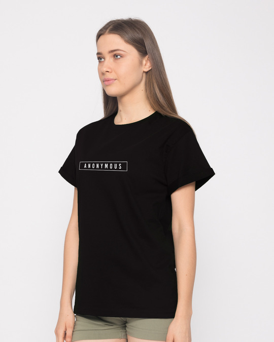 Shop Anonymous Minimal Boyfriend T-Shirt-Full