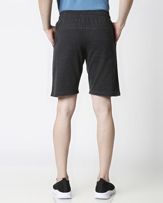 Shop Anthra Melange Men Shorts-Design
