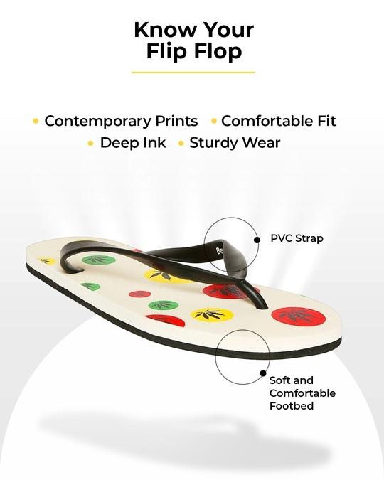 Shop Aop Rasta Printed Men's Flip-Flops-Full