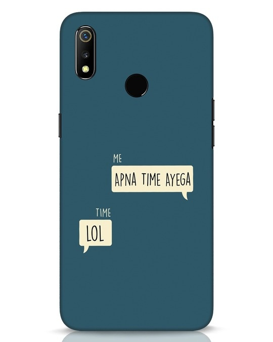 Shop Apna Time Aayega Lol Realme 3 Mobile Cover-Front