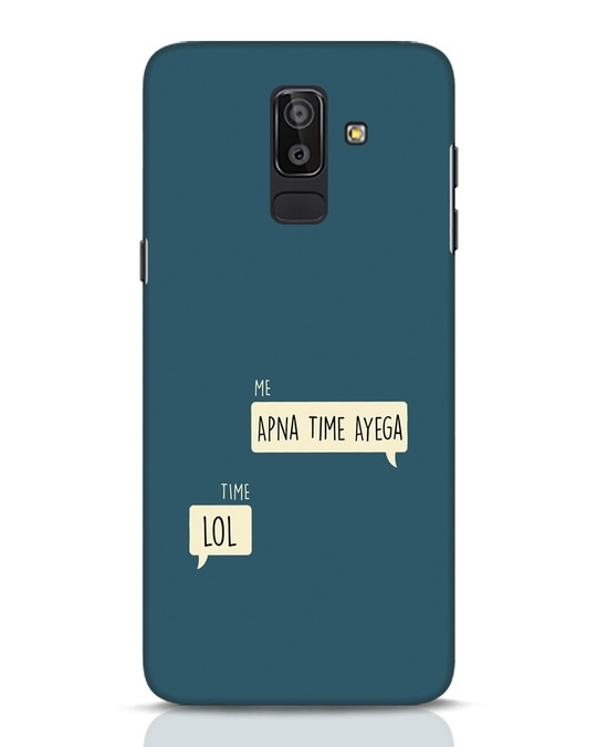 Shop Apna Time Aayega Lol Samsung Galaxy J8 Mobile Cover-Front