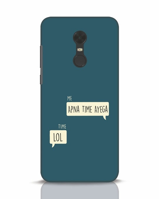 Shop Apna Time Aayega Lol Xiaomi Redmi Note 5 Mobile Cover-Front
