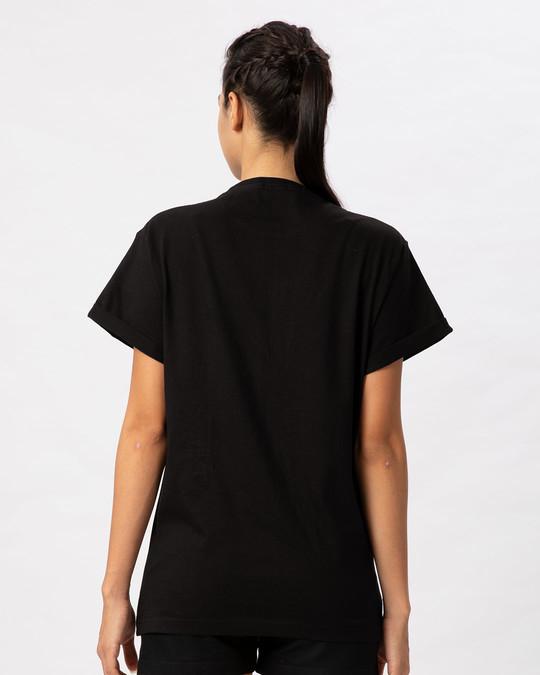 Shop Apna Time Ayega Boyfriend T-Shirt-Full