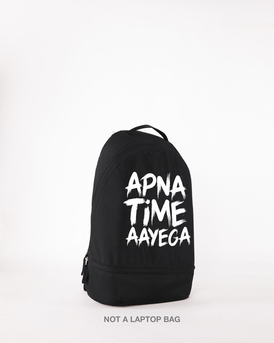 Shop Apna Time Ayega Small Backpack-Design