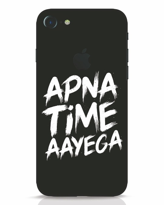 Shop Apna Time iPhone 7 Logo Cut Mobile Cover-Front
