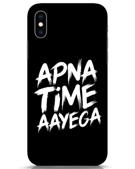 Shop Apna Time iPhone XS Mobile Cover-Front