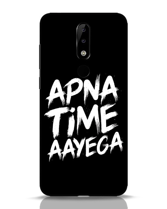 Shop Apna Time Nokia 5.1 Plus Mobile Cover-Front