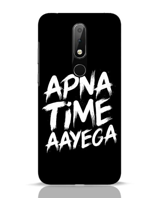 Shop Apna Time Nokia 6.1 Plus Mobile Cover-Front