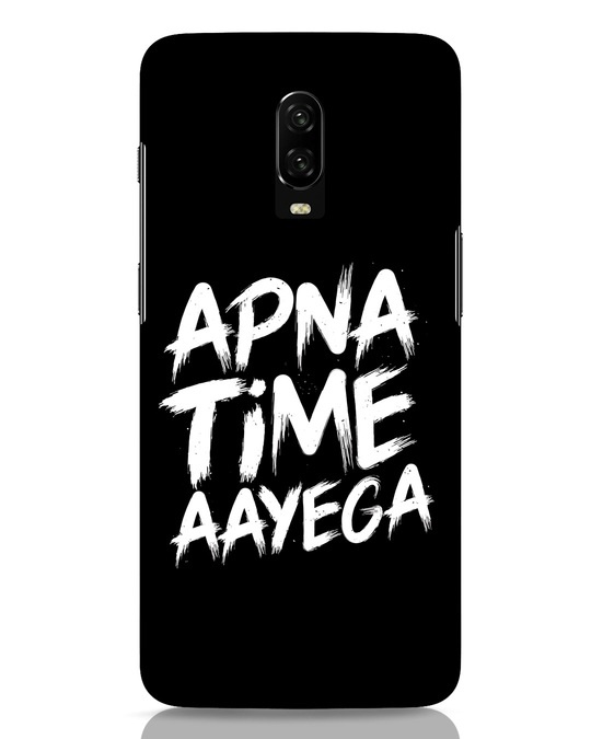 Shop Apna Time OnePlus 6T Mobile Cover-Front