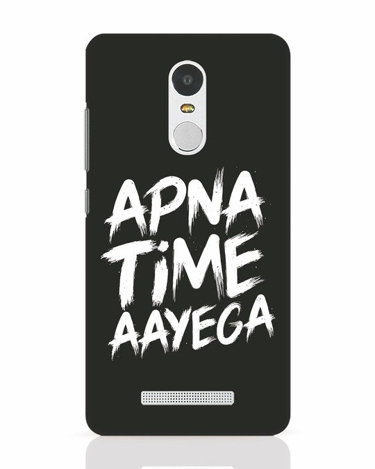 Shop Apna Time Xiaomi Redmi Note 3 Mobile Cover-Front