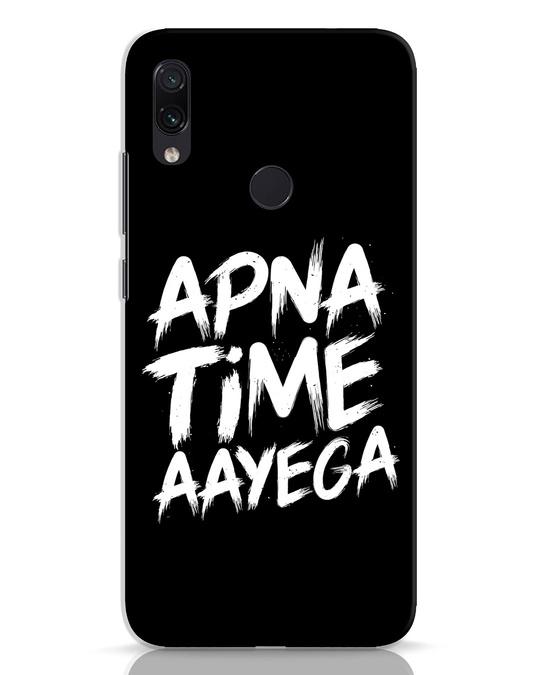 Shop Apna Time Xiaomi Redmi Note 7 Pro Mobile Cover-Front