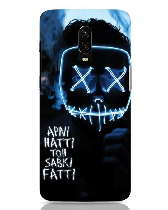 Shop Apni Hatti Toh Sabki Fatti OnePlus 6T Mobile Cover-Front