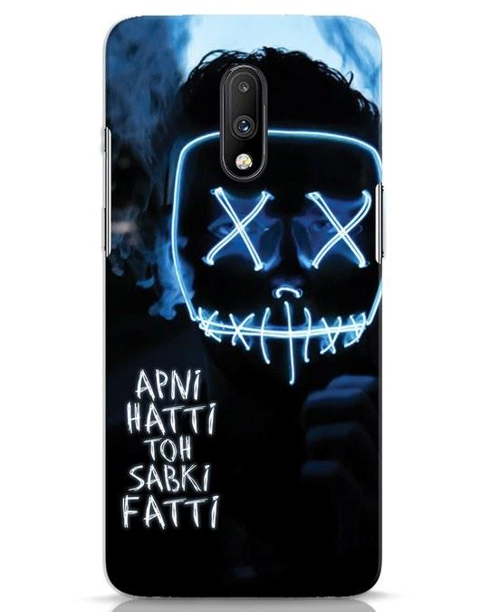Shop Apni Hatti Toh Sabki Fatti OnePlus 7 Mobile Cover-Front