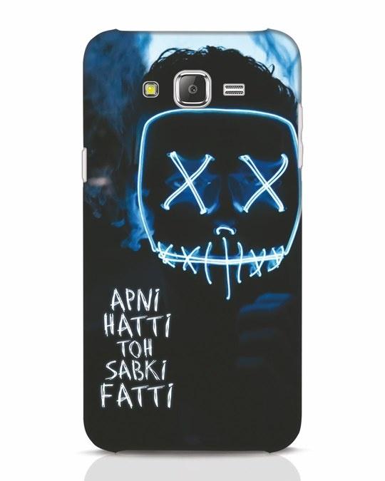 Shop Apni Hatti Toh Sabki Fatti Samsung Galaxy J7 Mobile Cover-Front