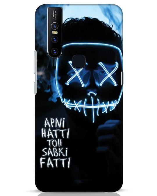 Shop Apni Hatti Toh Sabki Fatti Vivo V15 Mobile Cover-Front