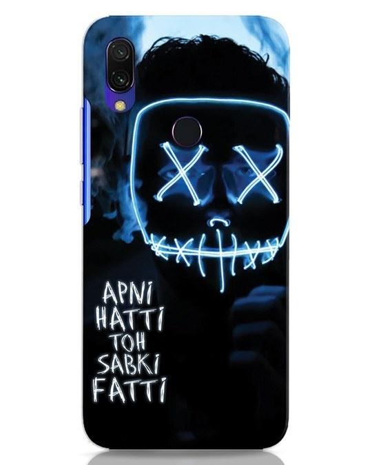 Shop Apni Hatti Toh Sabki Fatti Xiaomi Redmi 7 Mobile Cover-Front