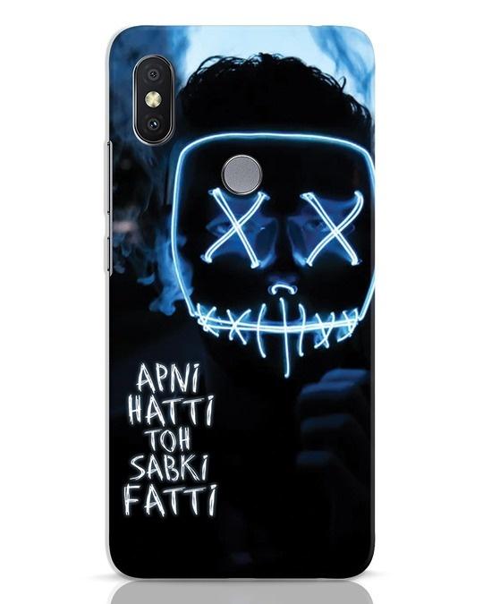 Shop Apni Hatti Toh Sabki Fatti Xiaomi Redmi Y2 Mobile Cover-Front