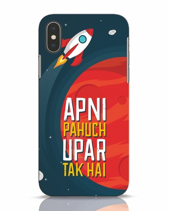 Shop Apni Pahuch Upar Tak Hai iPhone X Mobile Cover-Front