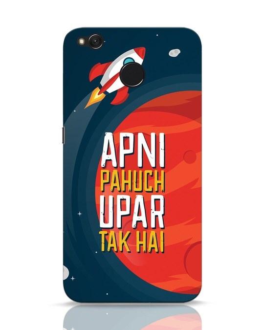 Shop Apni Pahuch Upar Tak Hai Xiaomi Redmi 4 Mobile Cover-Front