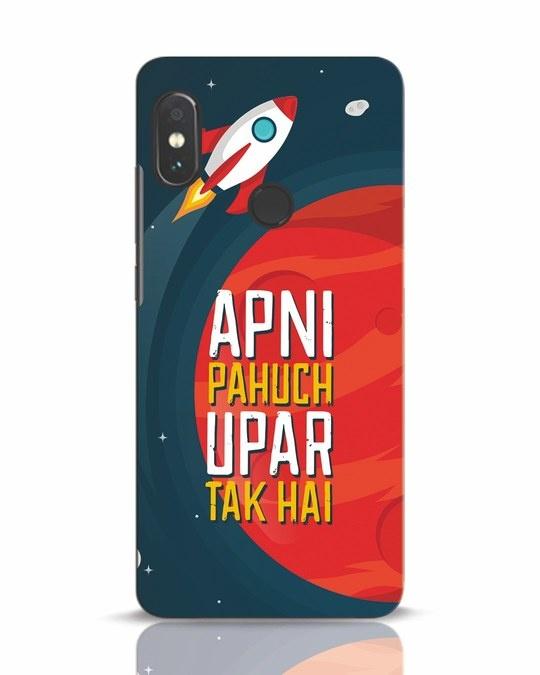 Shop Apni Pahuch Upar Tak Hai Xiaomi Redmi Note 5 Pro Mobile Cover-Front