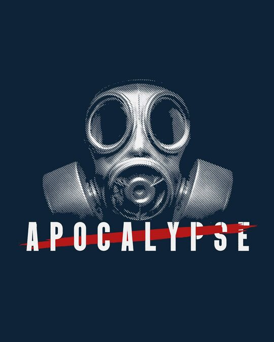 Shop Apocalyfse Half Sleeve T-Shirt-Full
