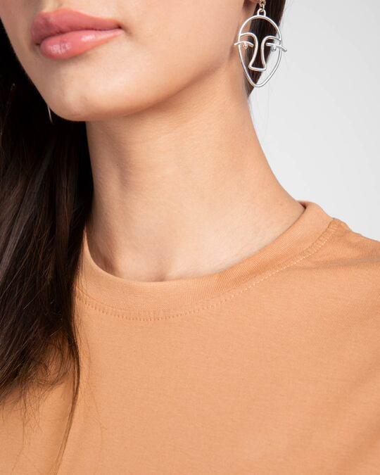 Shop Apricot Orange Boyfriend T-Shirt