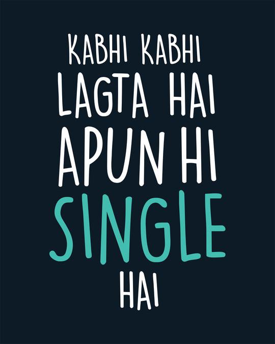 Shop Apun Hi Single Boyfriend T-Shirt