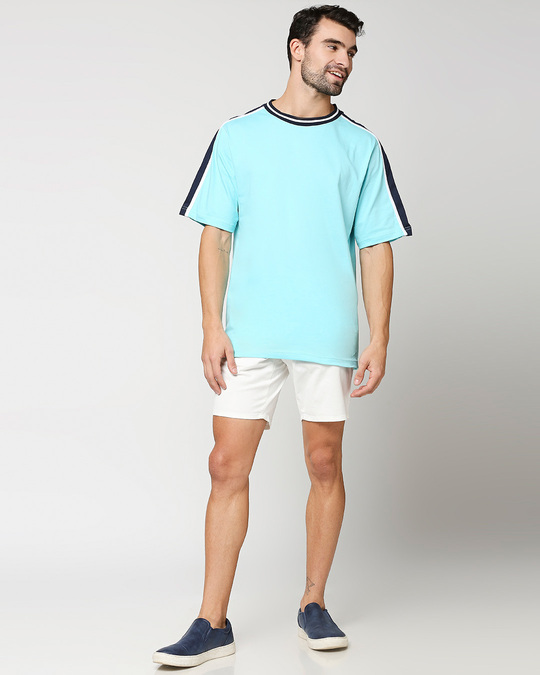 Shop Beach Blue Varsity T-Shirt