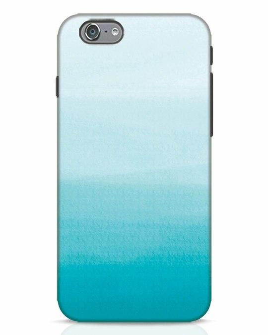 Shop Aqua iPhone 6 Mobile Cover-Front