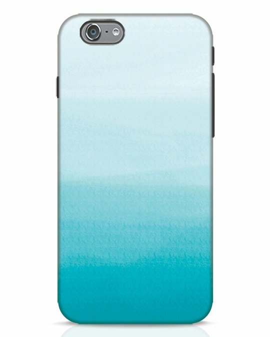 Shop Aqua iPhone 6s Mobile Cover-Front