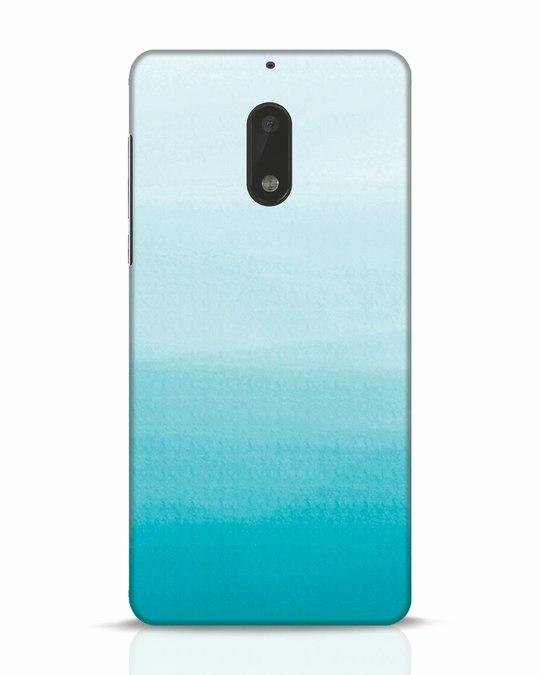 Shop Aqua Nokia 6 Mobile Cover-Front