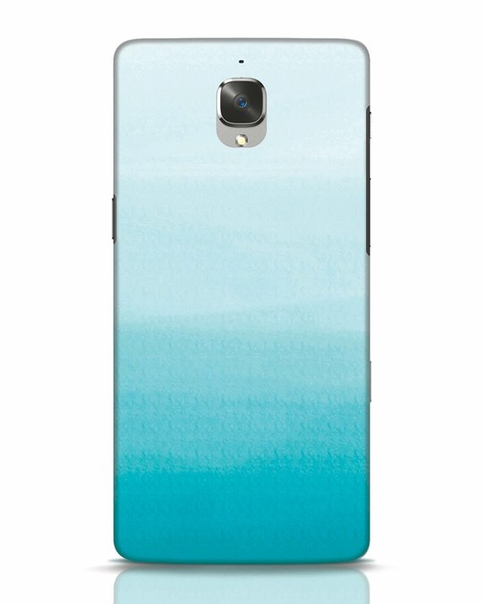 Shop Aqua OnePlus 3T Mobile Cover-Front