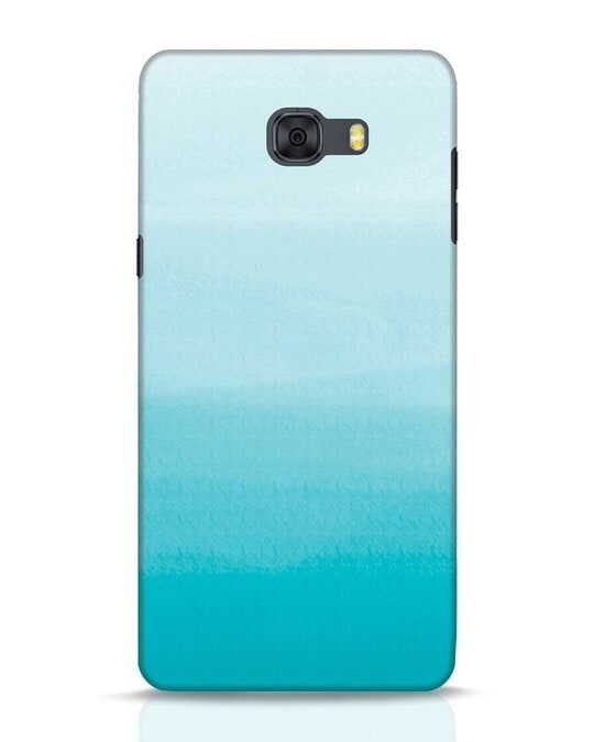 Shop Aqua Samsung Galaxy C9 Pro Mobile Cover-Front
