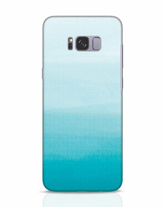 Shop Aqua Samsung Galaxy S8 Mobile Cover-Front