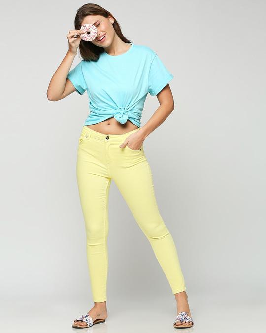 Shop Beach Blue Boyfriend T-Shirt