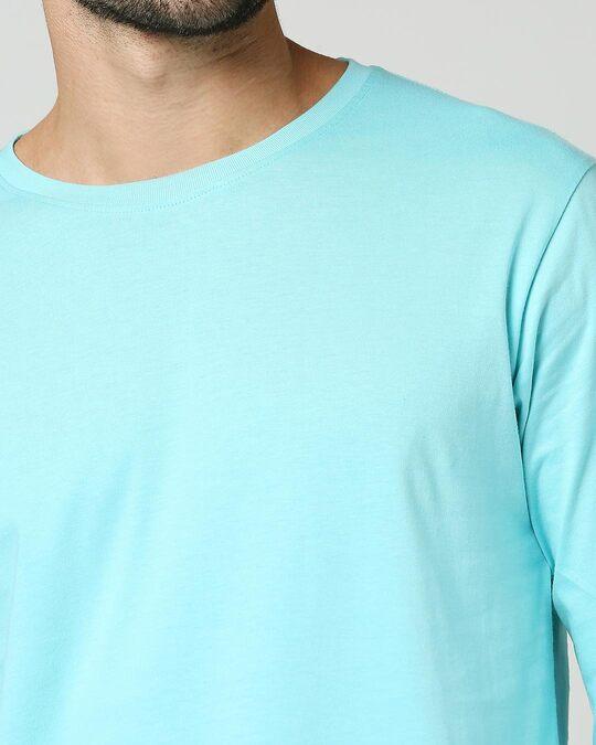Shop Beach Blue Full Sleeve T-Shirt