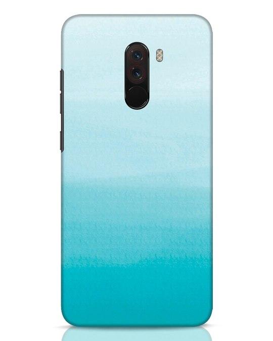 Shop Aqua Xiaomi POCO F1 Mobile Cover-Front