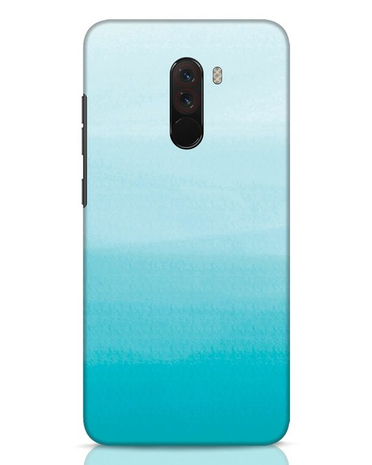 Shop Aqua Xiaomi POCO F1 Mobile Cover-Front