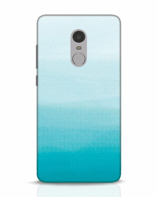Shop Aqua Xiaomi Redmi Note 4 Mobile Cover-Front