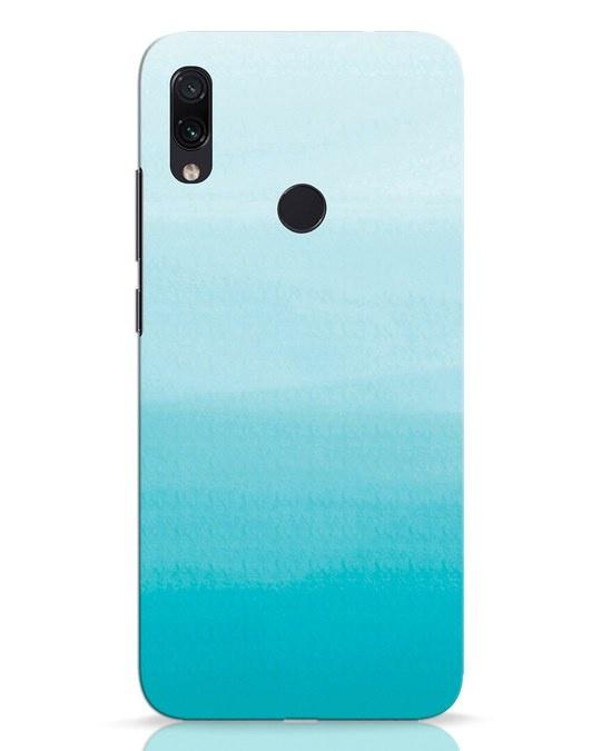 Shop Aqua Xiaomi Redmi Note 7 Mobile Cover-Front