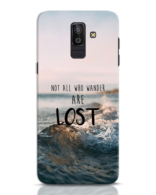 Shop Are Lost Samsung Galaxy J8 Mobile Cover-Front